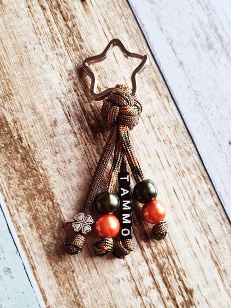 Schlüsselanhänger - Glücksbringer mit Namen